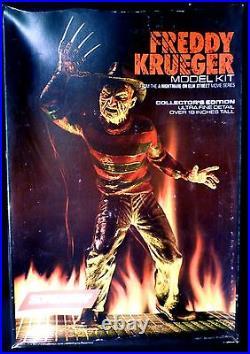 18 Freddy Krueger Model Kit Nightmare on Elm Street New 1984 Screamin' Amricons