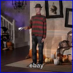 6 Ft LIFE-SIZE Animated FREDDY KRUEGER Nightmare on Elm Street GEMMY NIB FAST