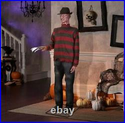 6 Ft LIFE-SIZE Animated FREDDY KRUEGER Nightmare on Elm Street by GEMMY New