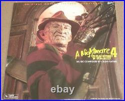 A NIGHTMARE ON ELM STREET 4 (Craig Safan) rare original near mint lp (1988)
