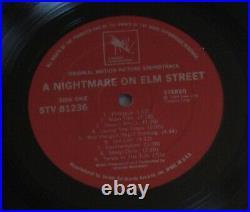 A NIGHTMARE ON ELM STREET (Charles Bernstein) rare orig. USA stereo lp (1984)