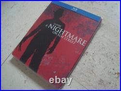 A NIGHTMARE ON ELM STREET rare CA Blu-ray SteelBook Robert Englund Johnny Depp