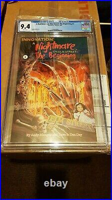 A Nightmare On Elm Street 1 CGC 9.4 NM Near Mint only 8 graded on total record