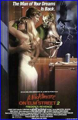 A Nightmare On Elm Street 2 Original Rolled 27x41 Movie Poster Matthew Peak Art