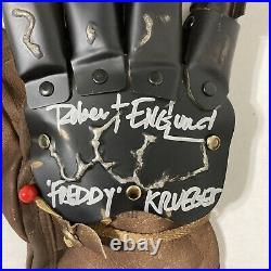 A Nightmare On Elm Street 4 Freddy Krueger Signed Autograph Glove Robert Englund