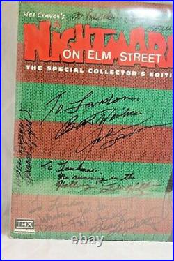 A Nightmare On Elm Street Collector's Edition Laser Disc Signed JSA Englund +6