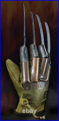 A Nightmare On Elm Street Freddy Krueger Prop Replica Glove 1984 Movie