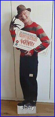 A Nightmare On Elm Street Freddy's Nightmares Video Standee