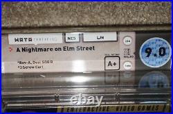 A Nightmare On Elm Street (Nintendo NES) WATA A+ 9.0 NEW Factory Sealed