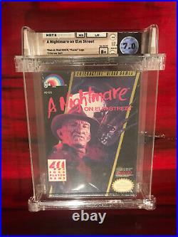 A Nightmare On Elm Street (Nintendo NES) WATA B+ 7.0 New Factory Sealed