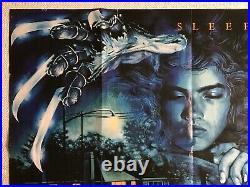 A Nightmare On Elm Street Original 1984 Quad Poster Wes Craven Graham Humphreys