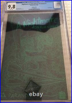 A Nightmare On Elm Street Paranoid #1 Leather Edition- Cgc 9.8