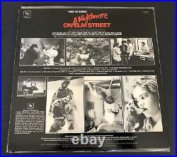 A Nightmare On Elm Street Soundtrack / Varese Sarabande 1984 Rare Horror Lp
