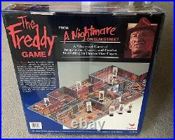 A Nightmare On Elm Street The Freddy Game Brand New Factory Sealed In Plastic