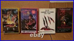 A Nightmare on Elm Street 1 7. VHS Horror Movies. G-VG