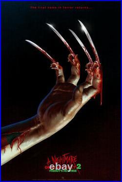 A Nightmare on Elm Street 2 Freddy's Revenge by Mike Saputo Mondo LE 52/225