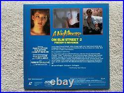 A Nightmare on Elm Street 2 Freddys Revenge Laserdisc Image Entertainment Media