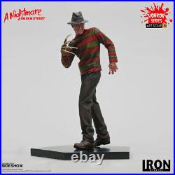 A Nightmare on Elm Street Freddy Krueger 110 Scale Statue Iron Studios Sideshow