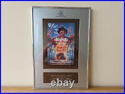 BVA Nightmare on Elm Street 2 Award Plaque Horror VHS Memorabilia Freddy Krueger
