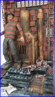 Custom DIORAMA Freddy Krueger a NIGHTMARE on Elm Street Scale 110 for 7 Figure