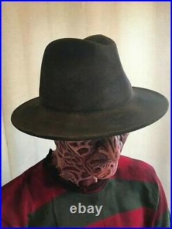 Custom Freddy Krueger Fedora Hat & Jumper Nightmare On Elm Street Cosplay Horror