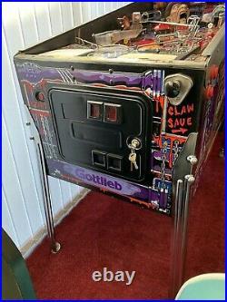 Freddy A Nightmare On Elm Street Pinball Machine Gottlieb Collectible Working