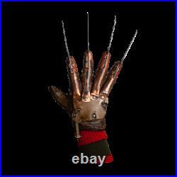 Freddy Krueger Deluxe Glove A Nightmare on Elm Street 2 Revenge Trick or Treat