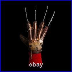 Freddy Krueger Deluxe Glove A Nightmare on Elm Street Trick Or treat In Stock