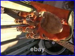 Freddy Krueger Glove with Display Stand Nightmare Elm Street Part 2