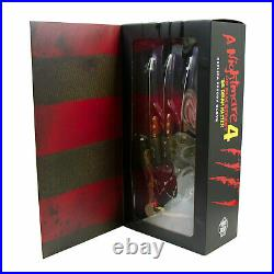 Freddy Krueger Nightmare On Elm Street 4 Halloween Costume Metal Glove Prop