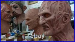 Freddy Krueger Nightmare On Elm Street Latex Mask, Robert England Demon Dreams