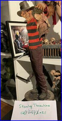 Freddy Krueger Premium Format Exclusive Nightmare On Elm Street Sideshow