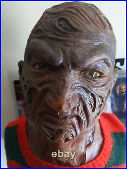 Freddy krueger nightmare on elm street Lifesize bust custom scale 11 prop