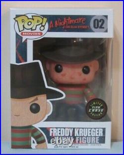 Funko Pop! A Nightmare on Elm Street Freddy Krueger #02 Glow Chase