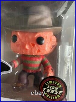Funko Pop Horror Nightmare on Elm Street Freddy Krueger GITD CHASE Variant