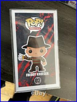 Funko pop freddy krueger Glow Chase #02 And Common Nightmare On Elm Street