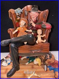 Gentle Giant Nightmare On Elm Street Freddy Krueger Chair Horror Statue Figure
