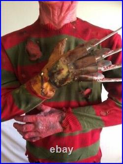 Life Size Freddy Krueger Statue. Nightmare on Elm Street