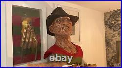 Life size bust freddy krueger nightmare on elm street 2