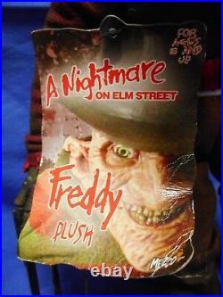 MEZCO CINEMA OF FEAR NIGHTMARE ON ELM STREET FREDDY KRUEGER PLUSH NEW WithTAGS