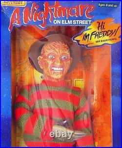 Matchbox 18 A NIGHTMARE ON ELM STREET FREDDY KRUEGER Talking Figure MIB`89 RARE