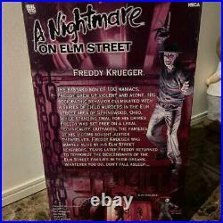 NECA 18 A Nightmare On Elm Street Freddy Krueger Figure Motion Activated Sound