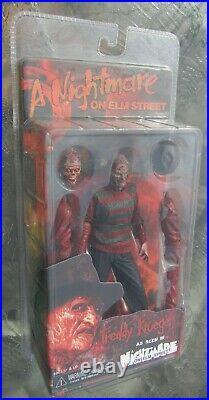 NECA A Nightmare On Elm Street Freddy Krueger Long Arm Action Figure UNUSED misp
