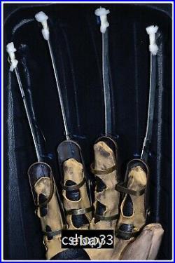 NECA Freddy Krueger Glove Prop Replica Nightmare on Elm Street FOR ADULTS