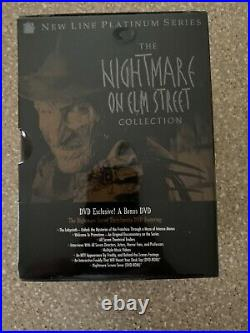 NEW The Nightmare on Elm Street Collection New Line Platinum Series, 8 Discs