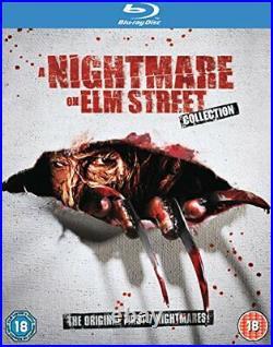 Nightmare On Elm Street 1-7 Blu-ray 2011 Region Free DVD 3KVG The Cheap