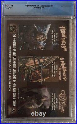 Nightmare On Elm Street #1 Prism Foil Edition CGC 9.8