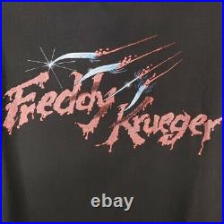 Nightmare On Elm Street 4 T Shirt Vintage 80s 1988 Dream Master USA Size Large