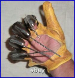 Nightmare On Elm Street Freddy Krueger Real Metal Glove