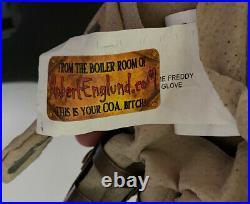 Nightmare On Elm Street Freddy Krueger Signed Glove Robert Englund Legend